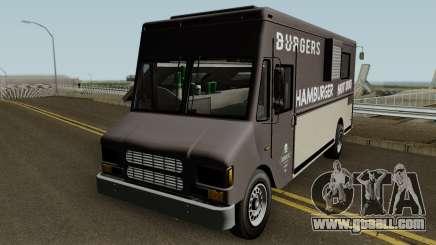 Brute Burger Van GTA V IVF for GTA San Andreas
