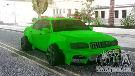 Nissan Cedric WideBody Green for GTA San Andreas