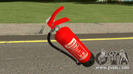 New Fire Extinguisher HQ for GTA San Andreas