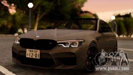 BMW M5 F90 RHD for GTA San Andreas