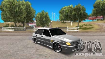 VAZ 2114 Improved Vehicle Features for GTA San Andreas
