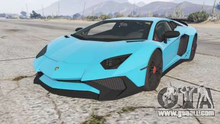Lamborghini Aventador LP 750-4 SV (LB834) 2015 for GTA 5