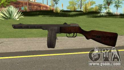 COD-WW2 - PPSH-41 for GTA San Andreas