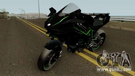 Kawasaki Ninja H2R 2015 HQ for GTA San Andreas