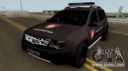 Dacia Duster Zandarmerija for GTA San Andreas