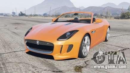 Jaguar F-Type R convertible 2015 for GTA 5