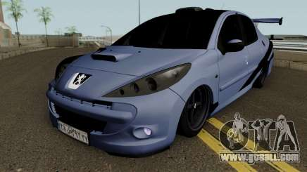 Peugeot 207 Sandogdar - Full Sport Iran for GTA San Andreas