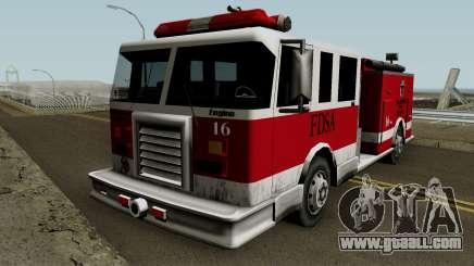 FireTruck IVF for GTA San Andreas