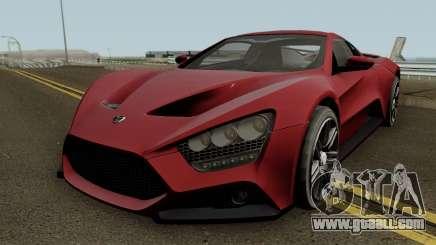 Zenvo ST1 GT 2009 for GTA San Andreas