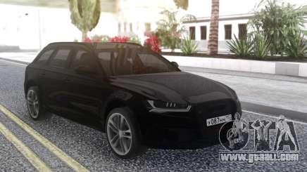 Audi RS 6 Travel for GTA San Andreas