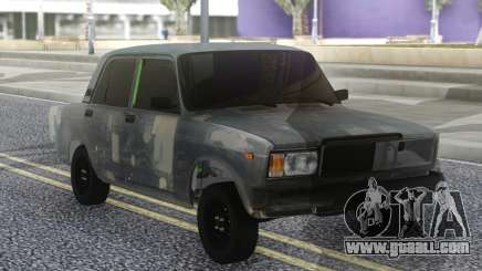VAZ 2107 Hobo Grey for GTA San Andreas