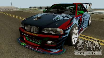 BMW M3 E46 Beast for GTA San Andreas