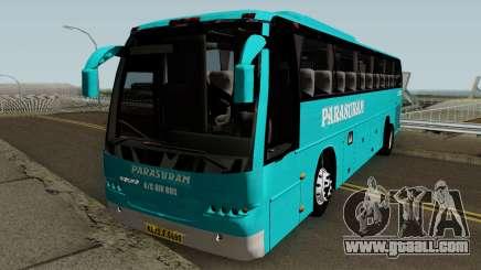 Parasuram Ac Air Volvo Bus for GTA San Andreas