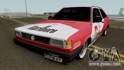 Volkswagen Gol Quadrado Marlboro for GTA San Andreas