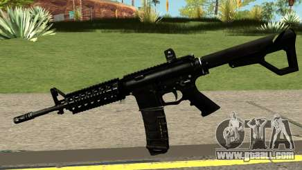 Contract Wars M4A1 Custom for GTA San Andreas