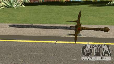 Barbarossa Sword From COD WWII:Nazi Zombies for GTA San Andreas
