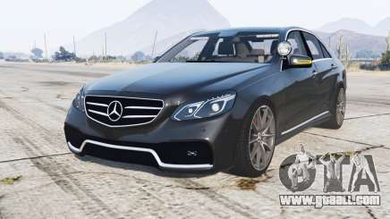 Mercedes-Benz E 63 AMG (W212) Unmarked Police for GTA 5