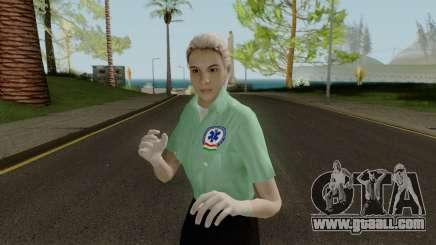Magyar Noi Rendor Skin for GTA San Andreas