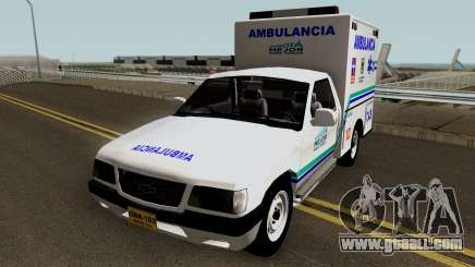 Chevrolet Luv Ambulancia Colombiana for GTA San Andreas