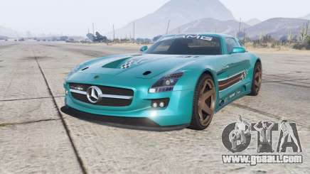 Mercedes-Benz SLS 63 AMG GT3 (C197) 2012 for GTA 5