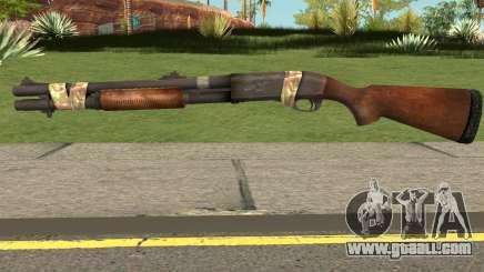 Remington 870 Bad Company 2 Vietnam for GTA San Andreas