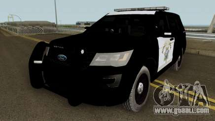 Ford Explorer CHP 2016 for GTA San Andreas