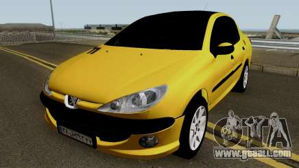 Peugeot 206 Sandogdar SD for GTA San Andreas