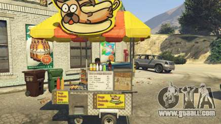 Sell Hotdogs [.NET] 1.0 for GTA 5