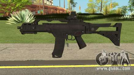Battle Carnival G36C for GTA San Andreas