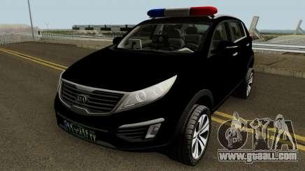 Kia Sportage Police Iran for GTA San Andreas