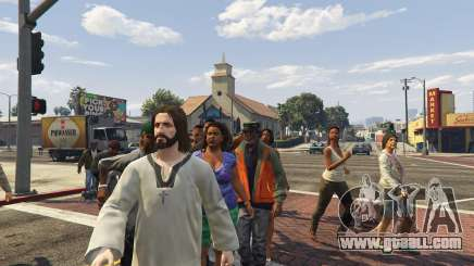 Jesus Christ Mod 2.4 for GTA 5