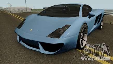 Pegassi Vacca from GTA V - SA Style for GTA San Andreas