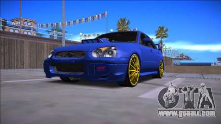 2005 Subaru Impreza WRX STI for GTA San Andreas