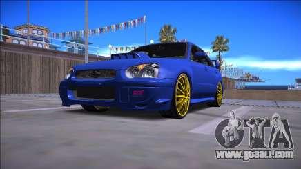 2005 Subaru Impreza WRX STI for GTA San Andreas