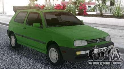 Volkswagen Golf Mk3 1.6 US-Spec for GTA San Andreas