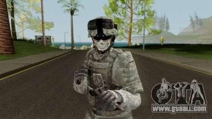 US Army ACU Skin for GTA San Andreas