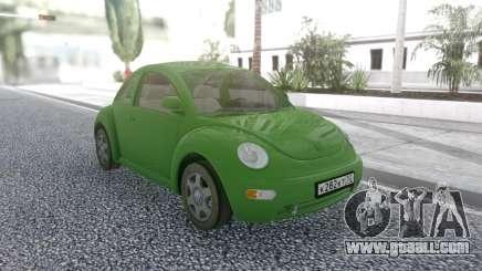 Volkswagen Beetle 2006 for GTA San Andreas