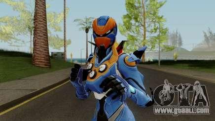 Fortnite Female Carbide Blue for GTA San Andreas
