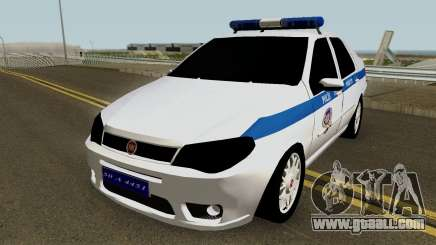 Fiat Albea Turkish Police UnBug for GTA San Andreas