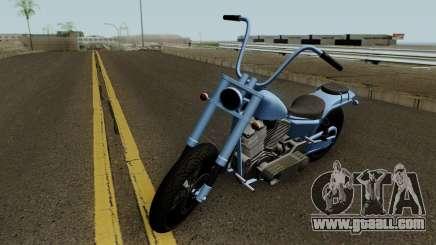 Western Motorcycle Daemon GTA V for GTA San Andreas