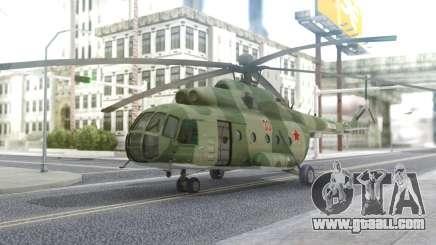 MI-8 MT for GTA San Andreas