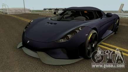 Koenigsegg Regera 2015 HQ for GTA San Andreas