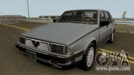 Alfa Romeo Milano 3.0 V6 1987 (US-Spec) for GTA San Andreas