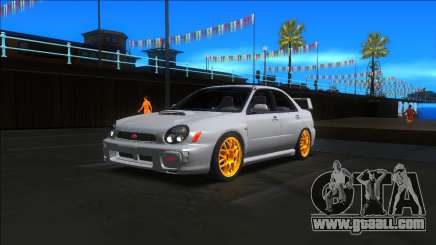 2001 Subaru Impreza WRX STI for GTA San Andreas