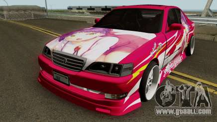 Toyota Cresta JXZ100 Neko Musume Itasha for GTA San Andreas