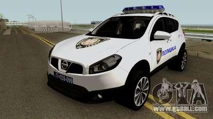Nissan Qashqai Interventna Jedinica 92 for GTA San Andreas