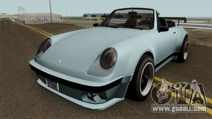 Porsche 911 Carrera Turbo (Comet Style) v1.1980 for GTA San Andreas
