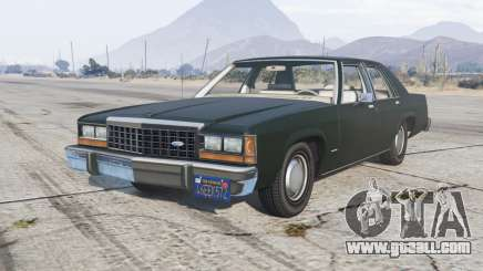 Ford LTD Crown Victoria 1987 for GTA 5