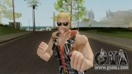 Duke Nukem Skin for GTA San Andreas