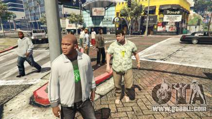 Join Me Peds [ASI] 3.1 for GTA 5